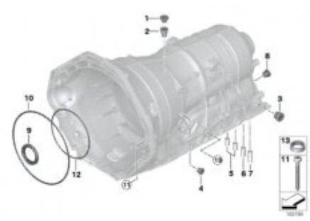 GA6HP19Z housing with mounting parts