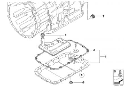 GA6L45R oil pan