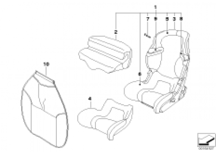 BMW Junior Seat I-II