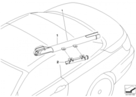 Cable guide trunk lid