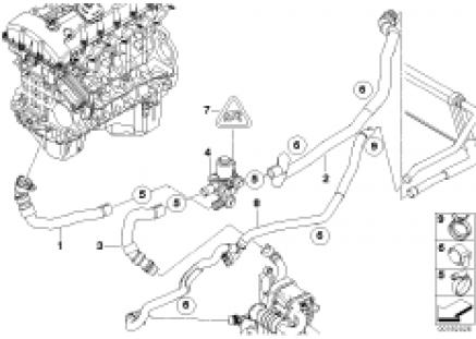 Independent heating water valves