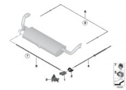Vacuum control, exhaust flap