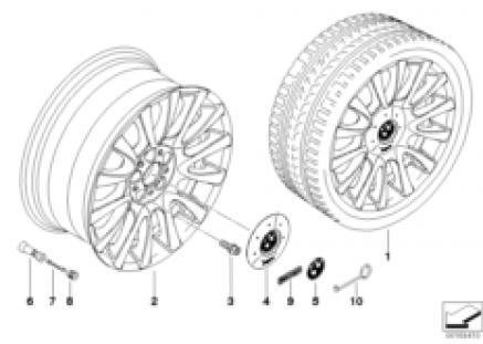 BMW LA wheel, V-spoke 265 individual