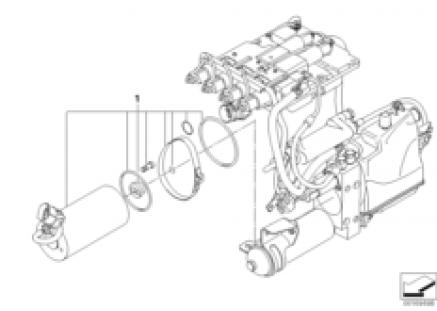 GS7S47BG hydraulic unit, electric motor