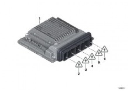 Basic control unit DME / MSD87\_1