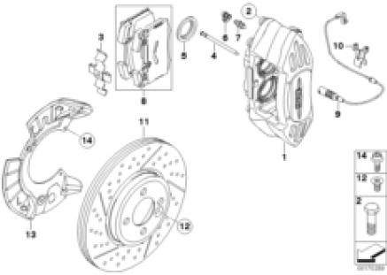 JCW Sport brakes, front
