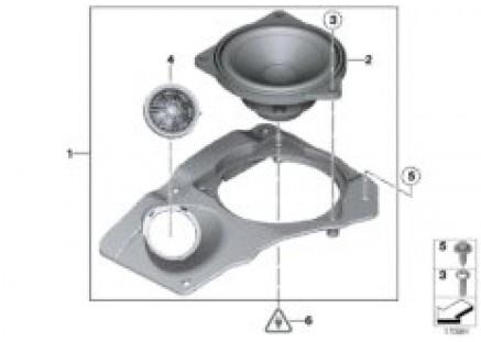 Single parts f package shelf top-hifi