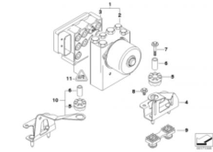 ASC hydro unit/control unit/support