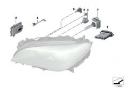 Headlight, electronic parts / bulbs Headlight, electronic parts / bulbs