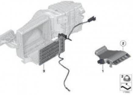 Electric preheater