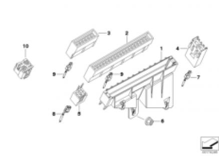 Fuse housing/relay bracket