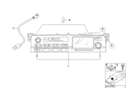 Radio BMW navigation