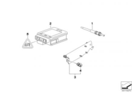 Glow plug unit