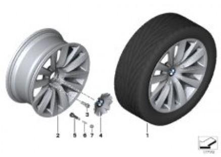BMW LA wheel Double Spoke 253 - 20''