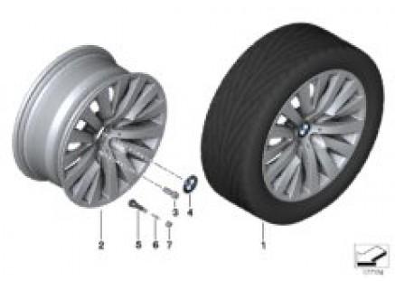 BMW LA wheel V-Spoke 254 - 18''