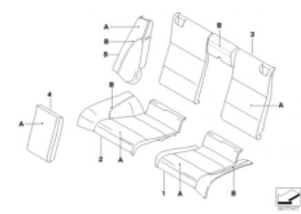 Individual Sport seat, rear