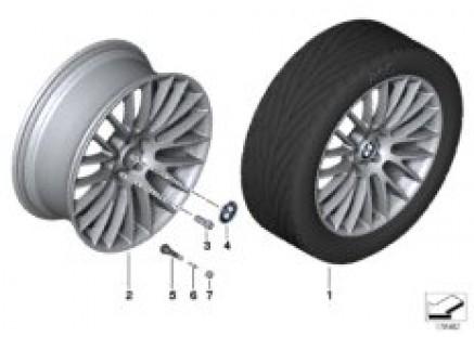 BMW LA wheel Cross Spoke 312