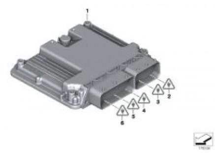 Basic DDE control unit