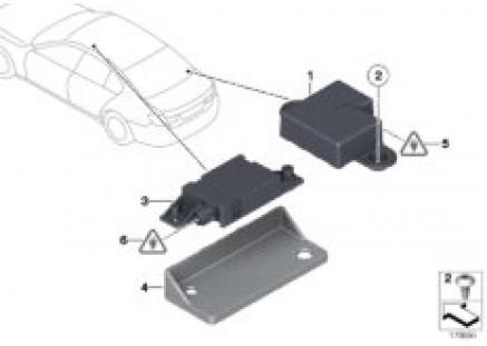 Individual parts for phone antenna