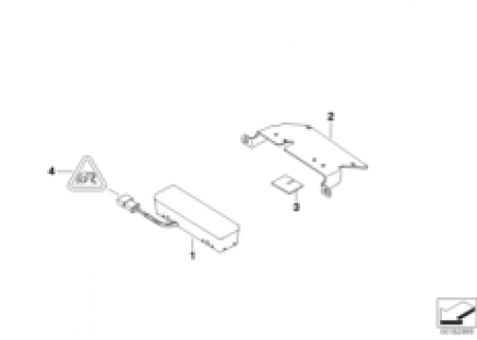 Strobe lamp - rear