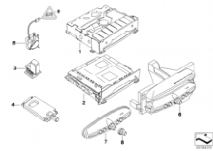 Single parts CCC
