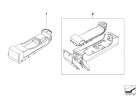 Single parts SA639/SA664 center console