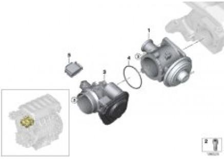AGR - Vacuum-controlled