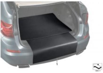 Cargo area reversible mat