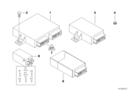 Body control units and moduls