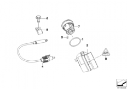 Steering lock/ignition switch