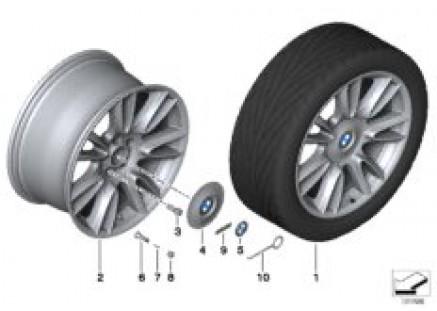 BMW LA wheel Individual V-Spoke 301-20''