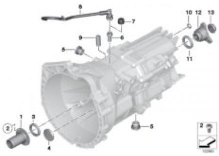 GS6-17BG/DG Seals,gaskets/mounted parts