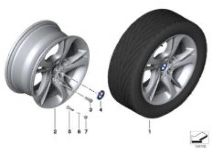 BMW LA wheel turbine styling 292