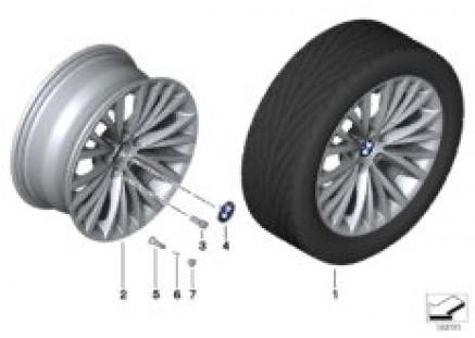 BMW LA wheel, multispoke 293