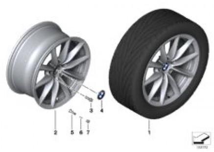 BMW LA wheel, V-spoke 296