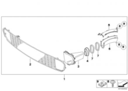 JCW brake ventilation package ¿ R5x