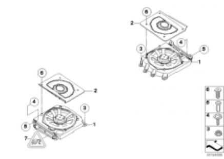 Components central bass