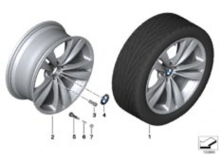 BMW LA wheel Double Spoke 316 - 20''