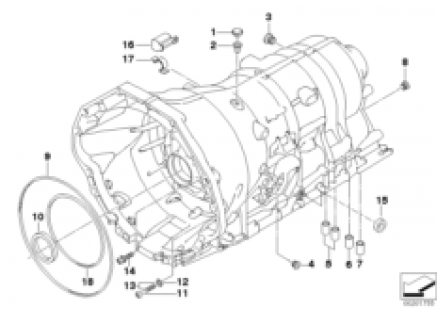 GA6HP26Z housing with mounting parts