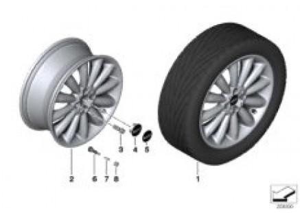MINI LA wheel Infinite Stream Spoke 116