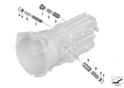GS6-53BZ/DZ inner gear shifting parts