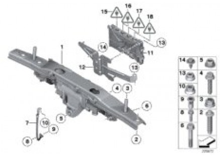 Actuator for HSR/mounting parts/ECU