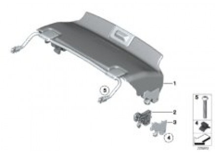 Trim cover for retractable hardtop