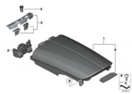 Armrest, centre console