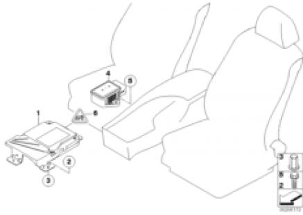 Ctrl mod./rot. rate sensor act.steering