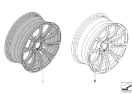 Individual LA wheel M Double Spoke 220