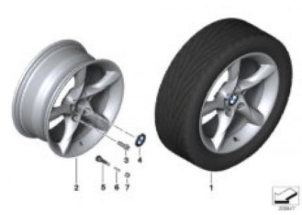 BMW LA wheel, star spoke 295