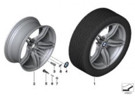BMW LA wheel, M Double Spoke 326