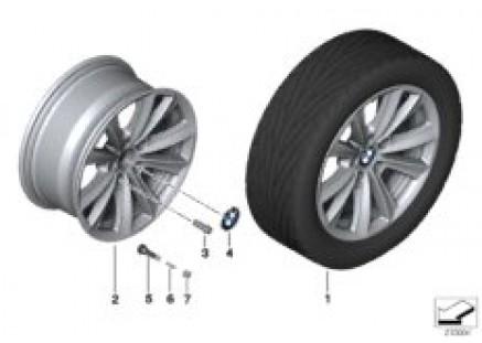BMW LA wheel V-Spoke 236 - 17''