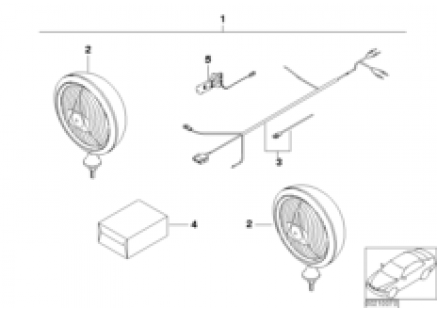 Headlight retrofit kit
